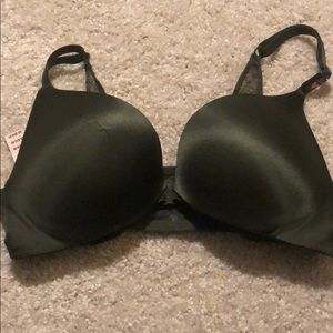 Dark Green Victoria's Secret Push-Up Bra
